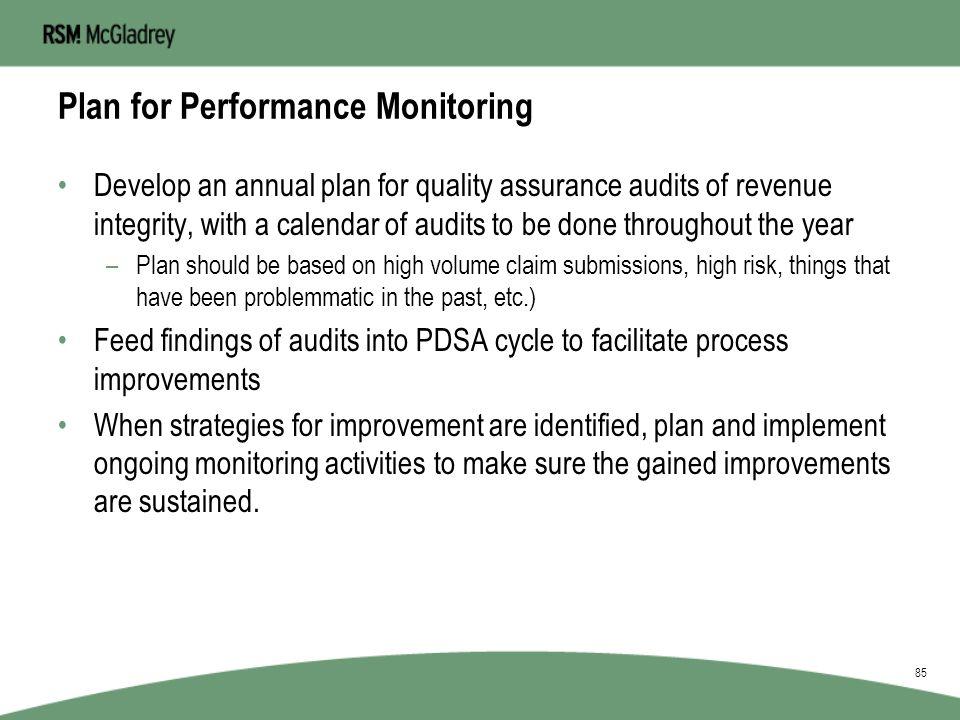 PDSA Performance Improvement Cycle Do StudyAct Plan 84