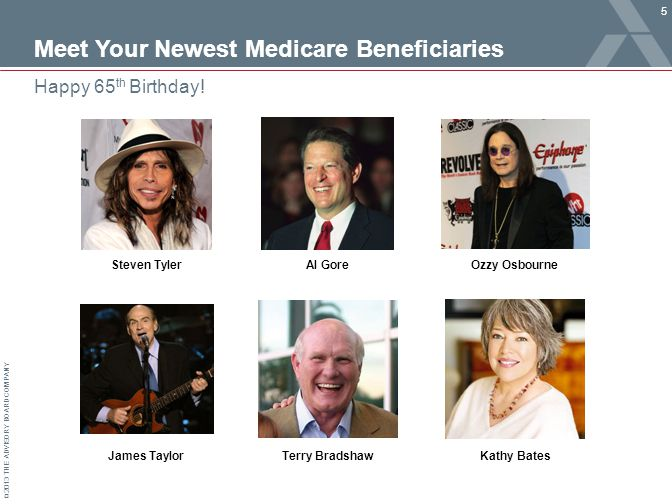 © 2013 THE ADVISORY BOARD COMPANY Meet Your Newest Medicare Beneficiaries 5 Happy 65 th Birthday.