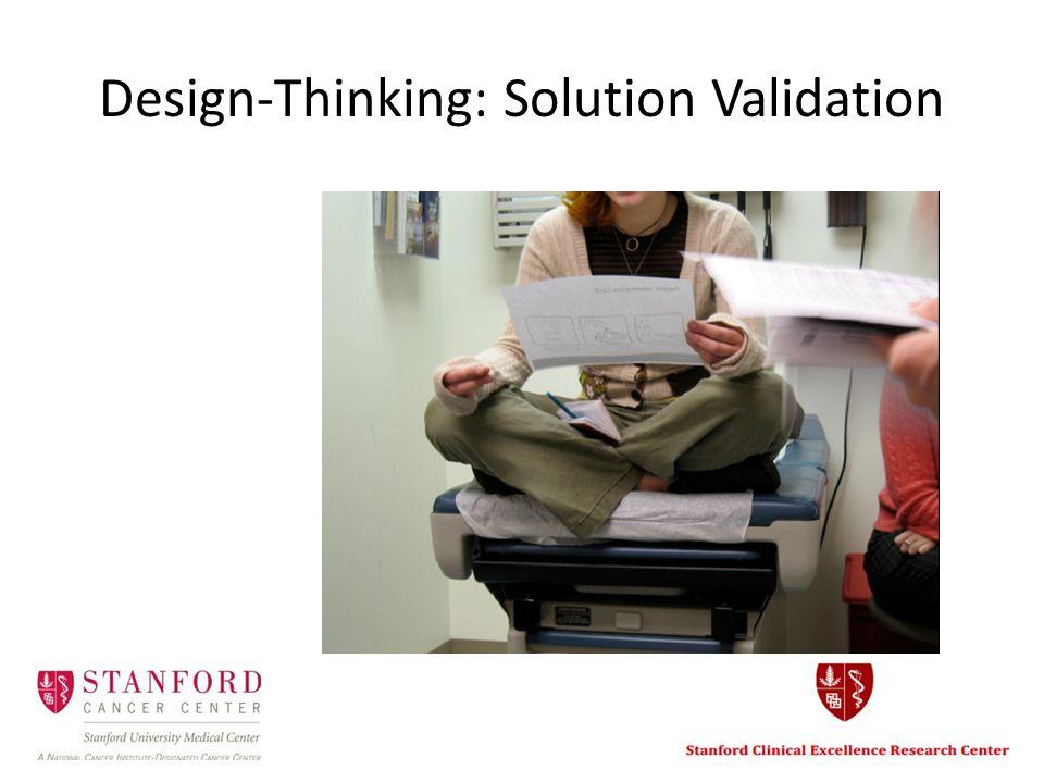 Design-Thinking: Solution Validation