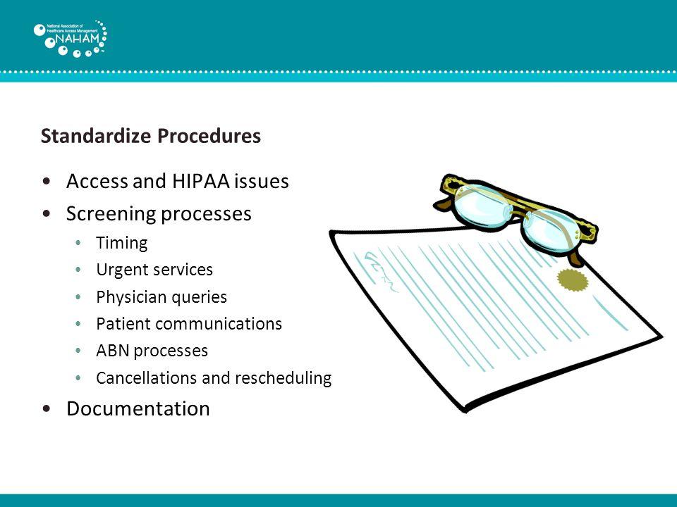 Access and HIPAA