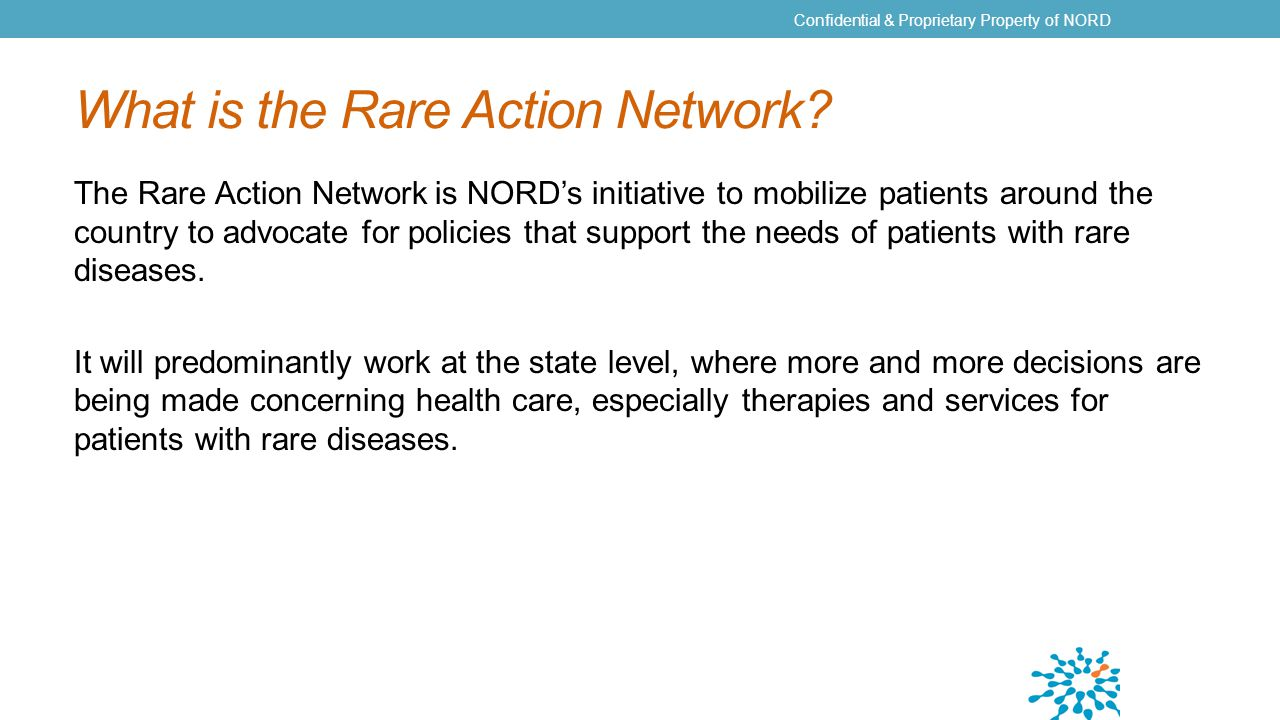 What is the Rare Action Network.