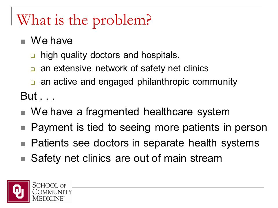 Patient Centered Medical Home the Answer.