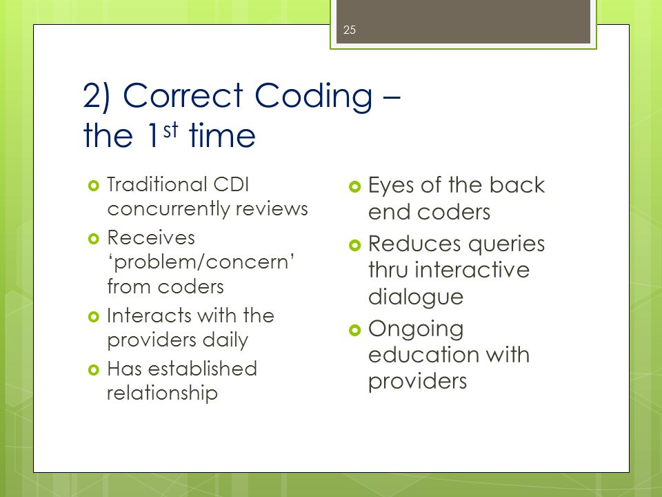 Step Two: Coding Focus 24
