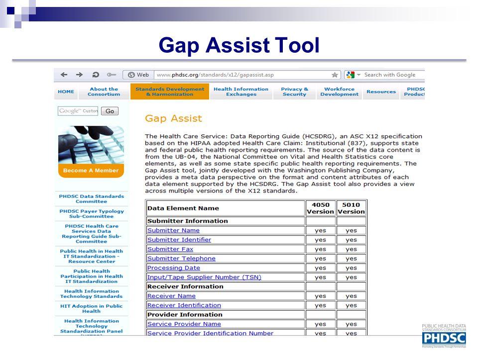 Gap Assist Tool