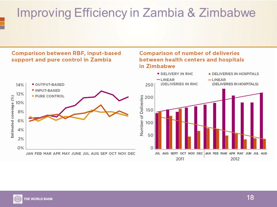 Improving Efficiency in Zambia & Zimbabwe 18