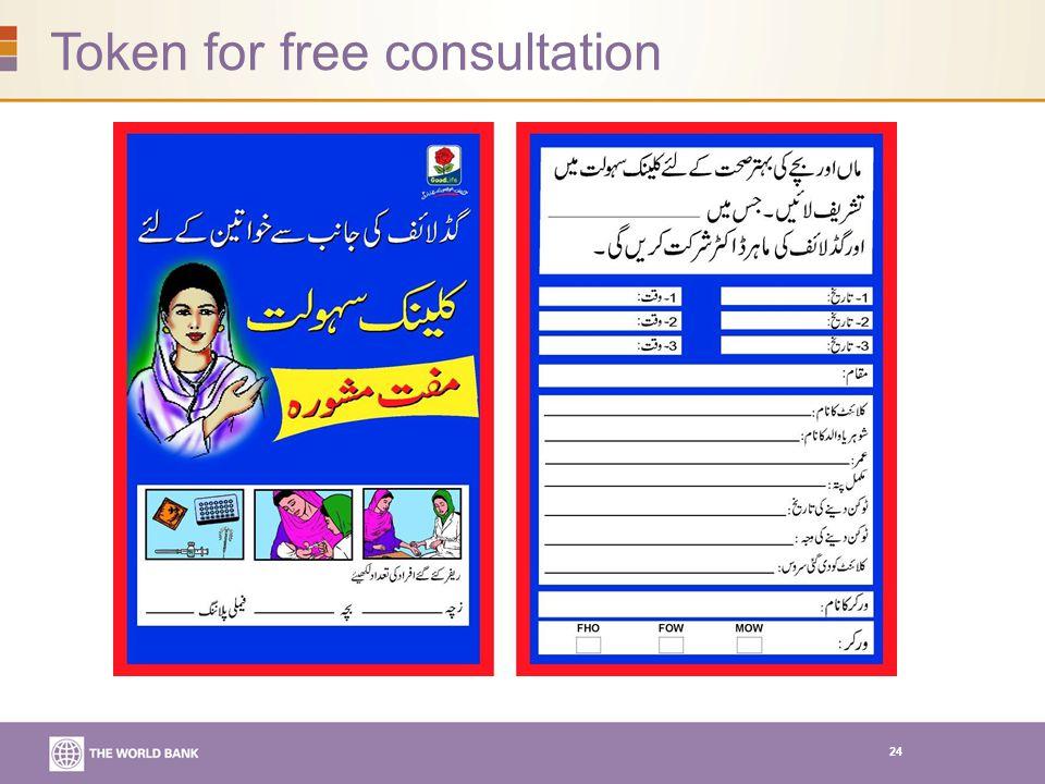 24 Token for free consultation