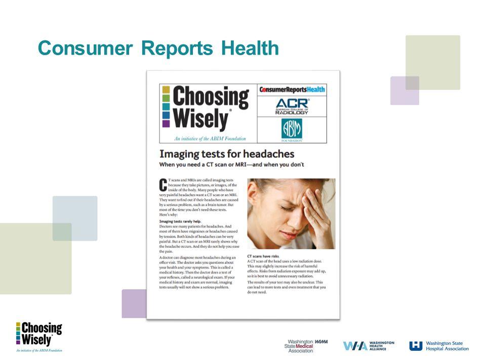 Consumer Reports Health