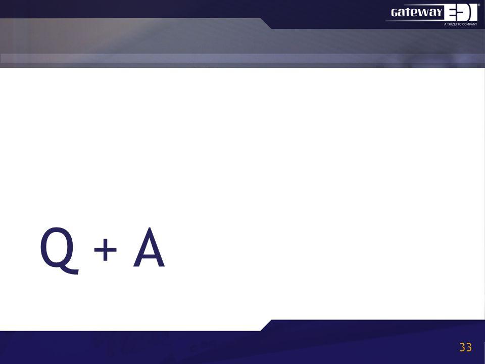 Q + A 33