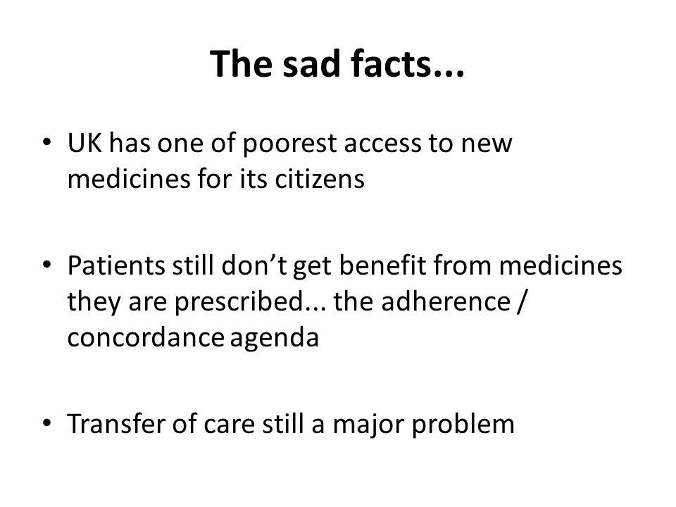 The sad facts...
