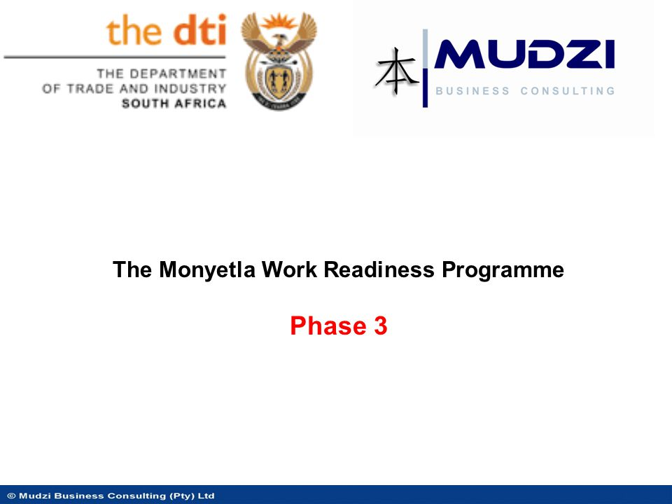  Objective 1: To equip unemployed South Africans from the National Skills Development Strategy target groups with the skills required to enter employment in the BPS sector.