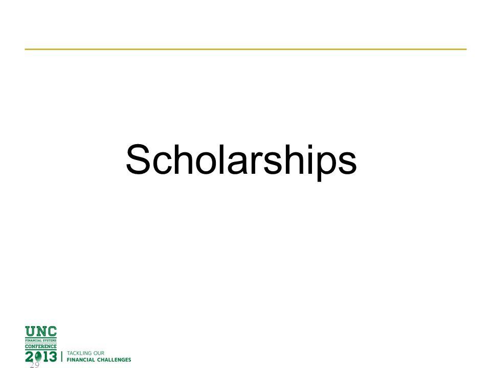 Scholarships 29