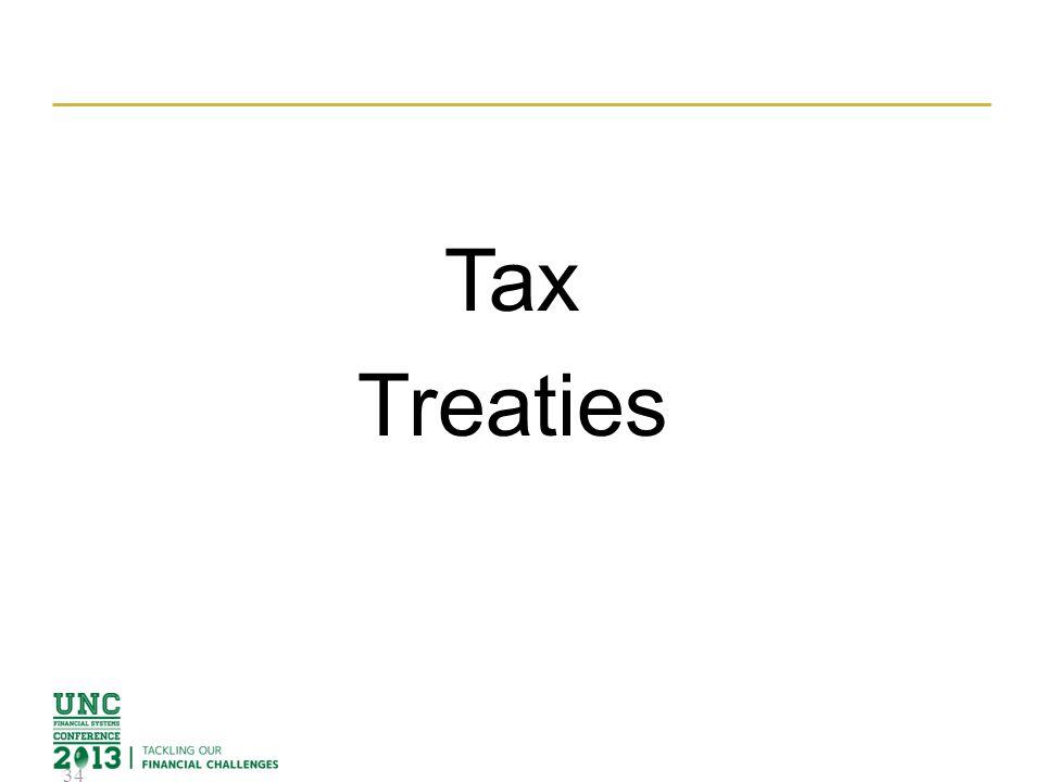 Tax Treaties 34