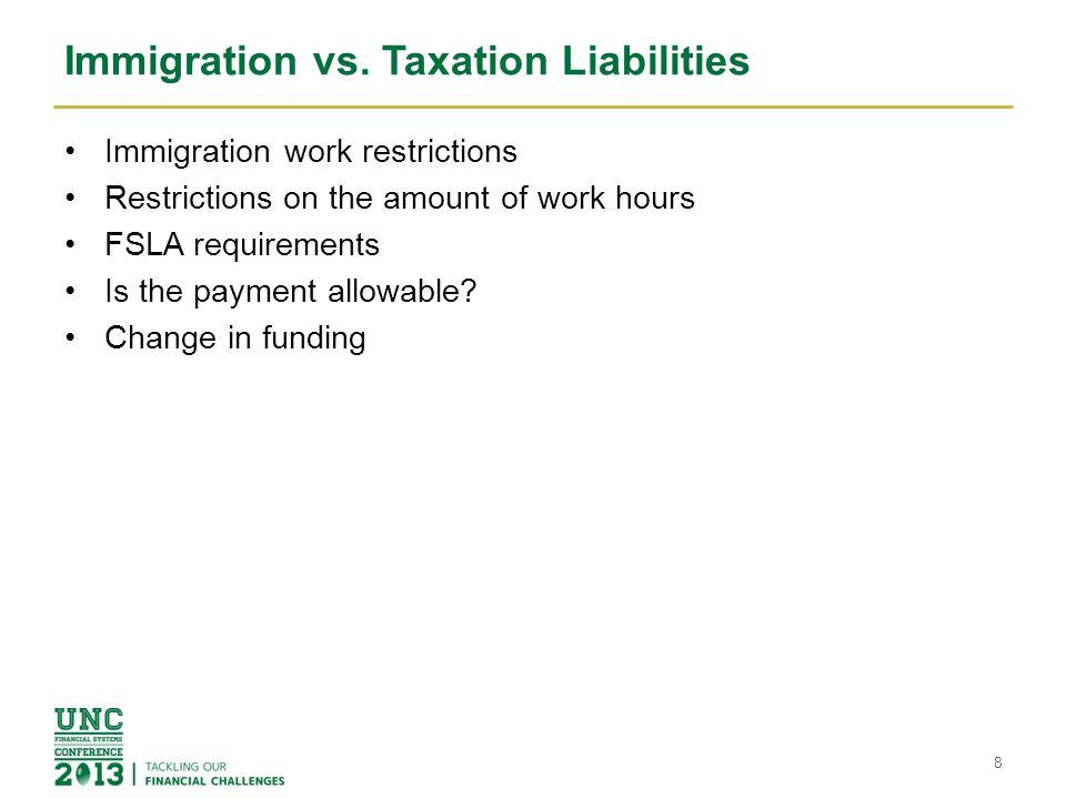 Immigration vs.