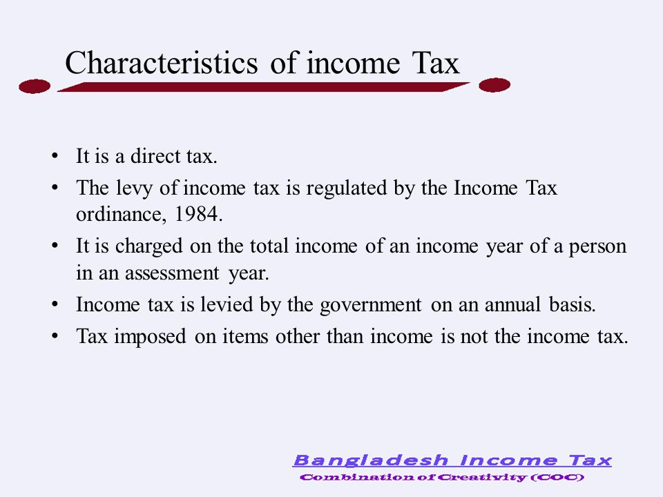 A taxpayer should file correct return.o A taxpayer is required to pay advance tax.