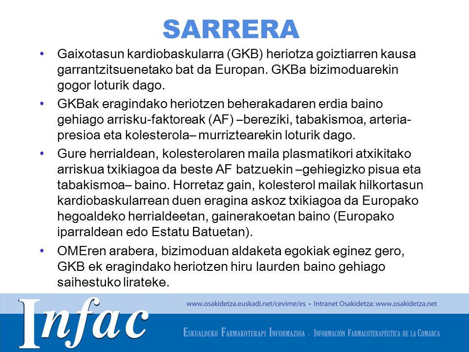 http://www.osakidetza.euskadi.net SARRERA Gaixotasun kardiobaskularra (GKB) heriotza goiztiarren kausa garrantzitsuenetako bat da Europan.
