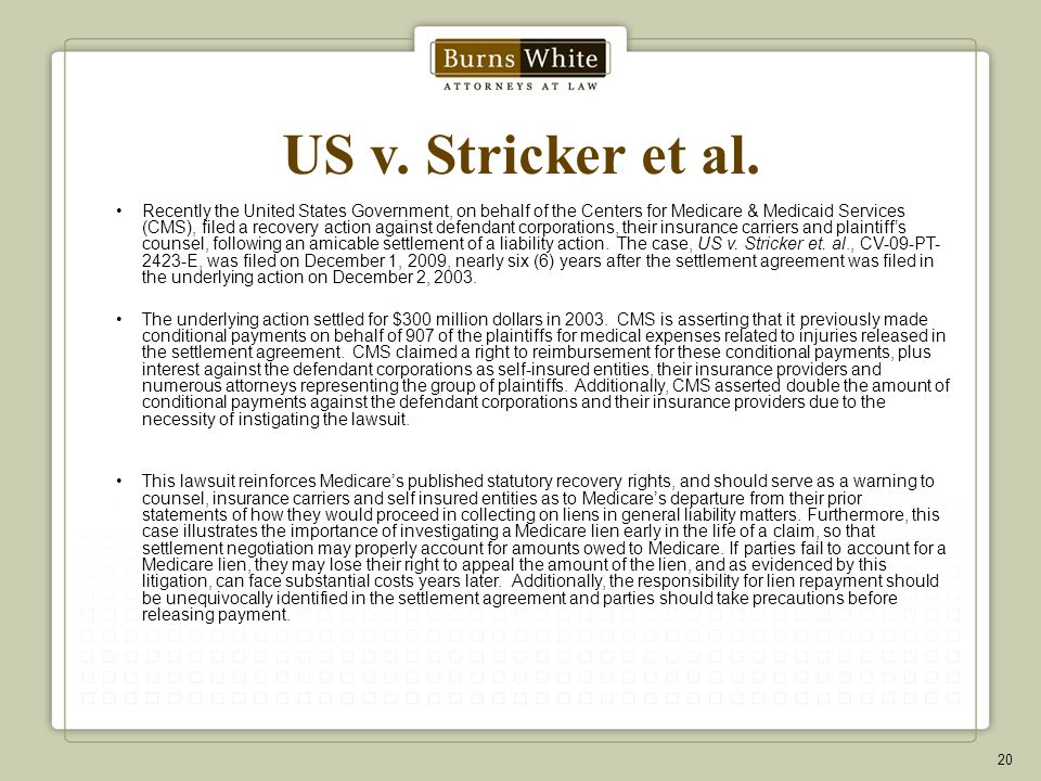 US v.Stricker et al.