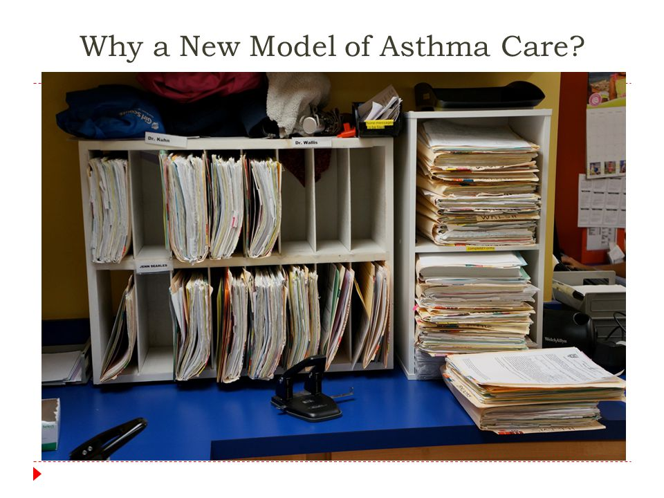 Why a New Model of Asthma Care.