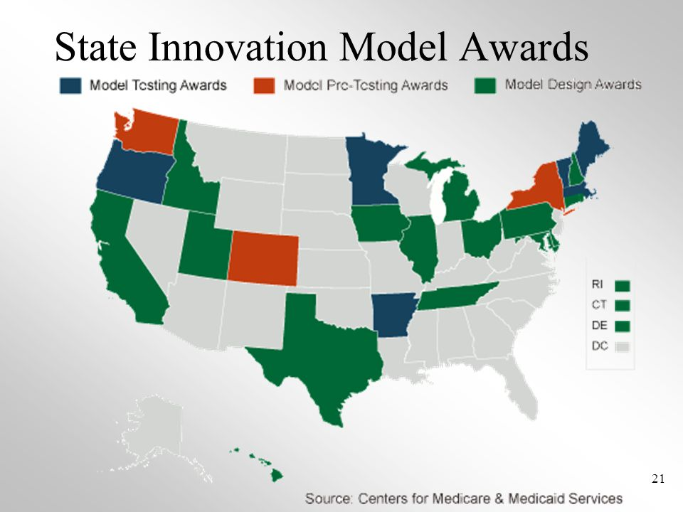 State Innovation Model Awards 21