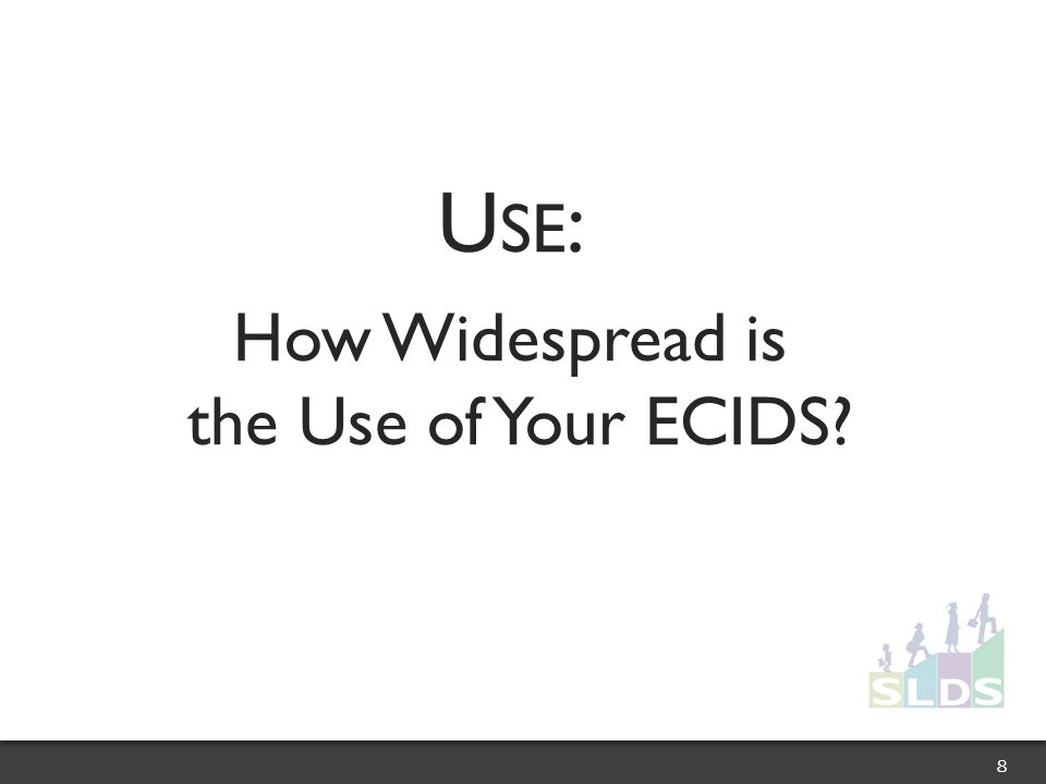 U SE : How Widespread is the Use of Your ECIDS 8