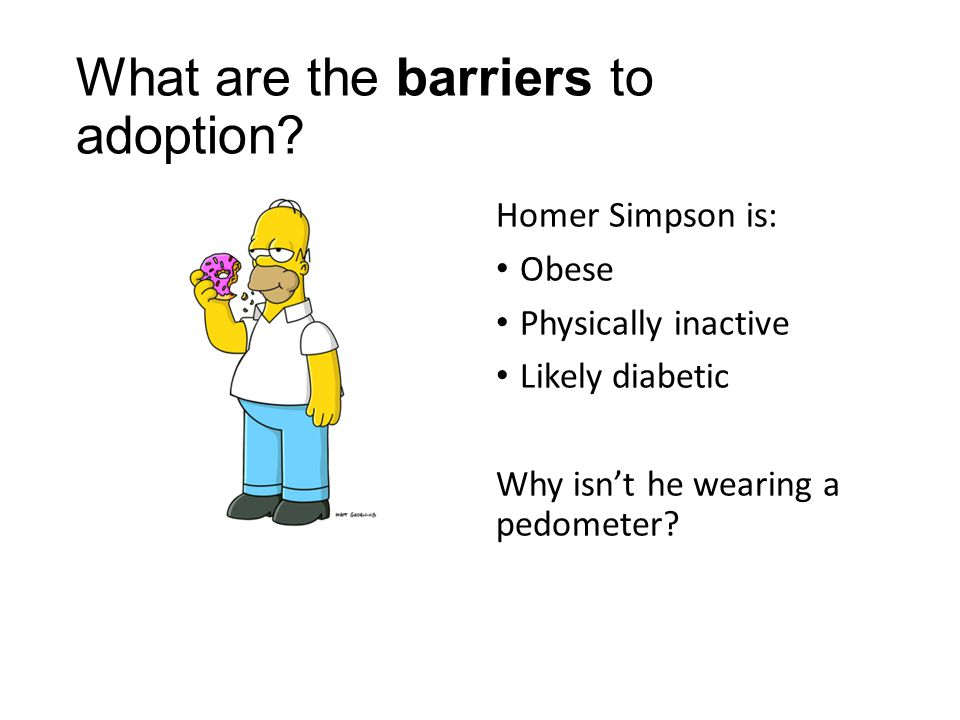 What are the barriers to adoption.