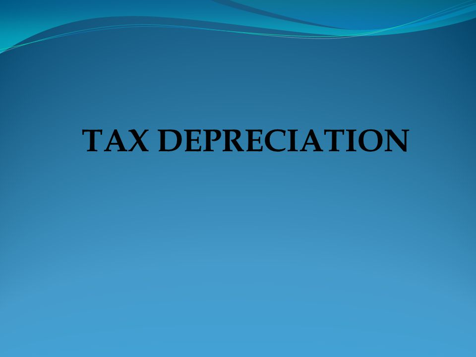  Depreciation allowances S.22, 23, 23A  Amortization of intangible S.24  Amortization of pre-commencement expenditures.