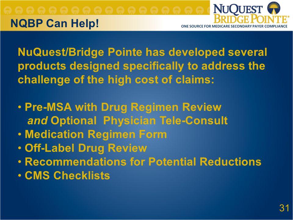 31 NQBP Can Help.