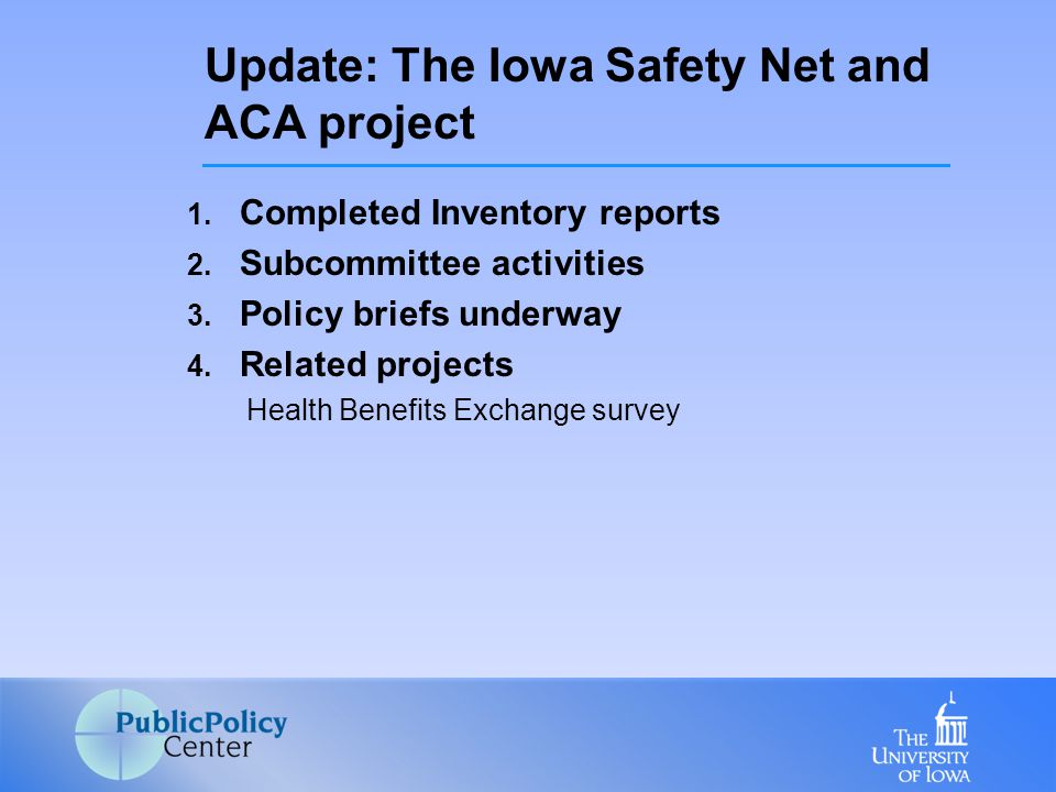 Primary Research Question: – What are the opportunities and barriers for the inclusion of safety net providers in ACOs that are developing in the state.
