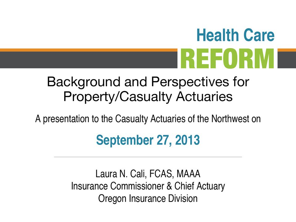 The Patient Protection & Affordable Care Act (ACA) implements broad, historic changes to U.S.
