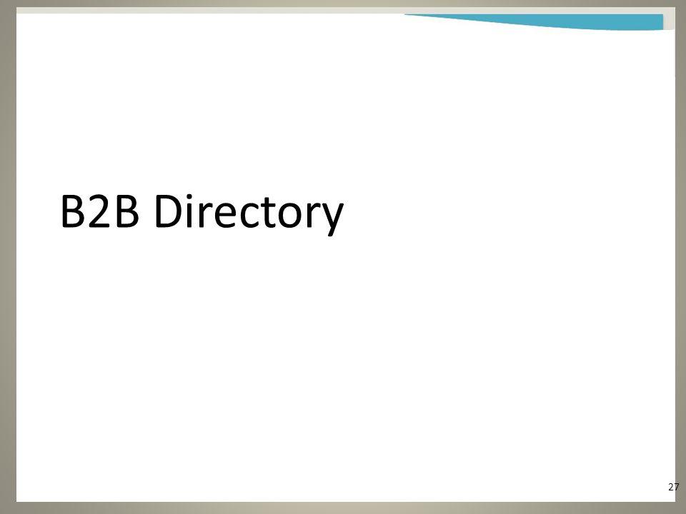 B2B Directory 27