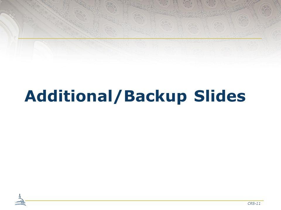 CRS-11 Additional/Backup Slides