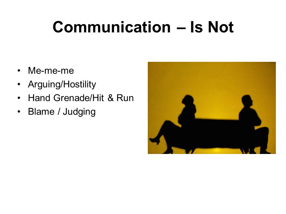 Communication – What it is TWO WAY/CHAIN PARTNERSHIP LEADING-RESPONSIBLE FACT FINDING CONTRIBUTION RESULT FOCUS UNDERSTANDING