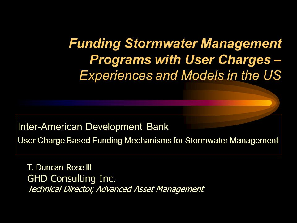 12 How Much Stormwater Management.