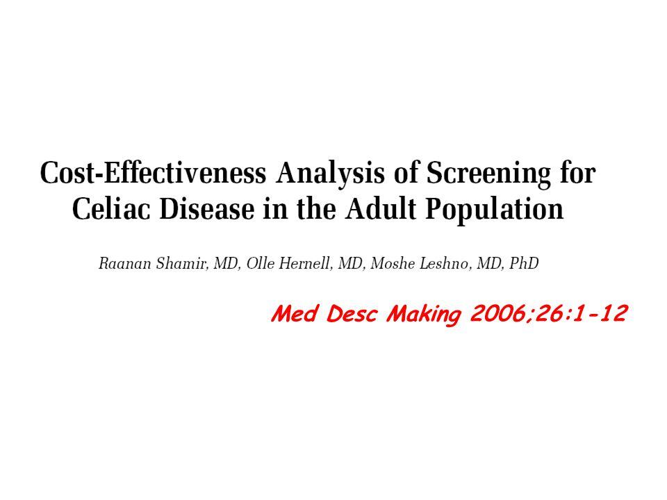 Med Desc Making 2006;26:1-12