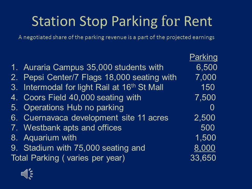 9 Stations 5 Miles 33,000 Parking Spaces $2.5 Billion Development Potentia l Experience Downtown Denver Interactive Map