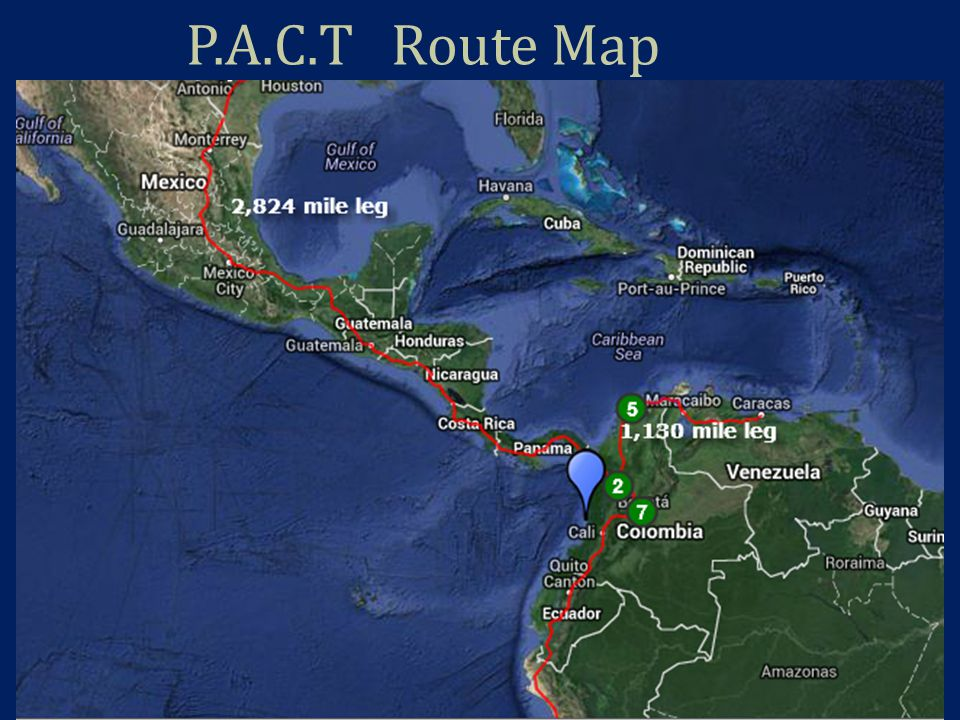 Pan American Corridor Trade Backbone This is a shared aerial easement through 18 countries in Central and South America.