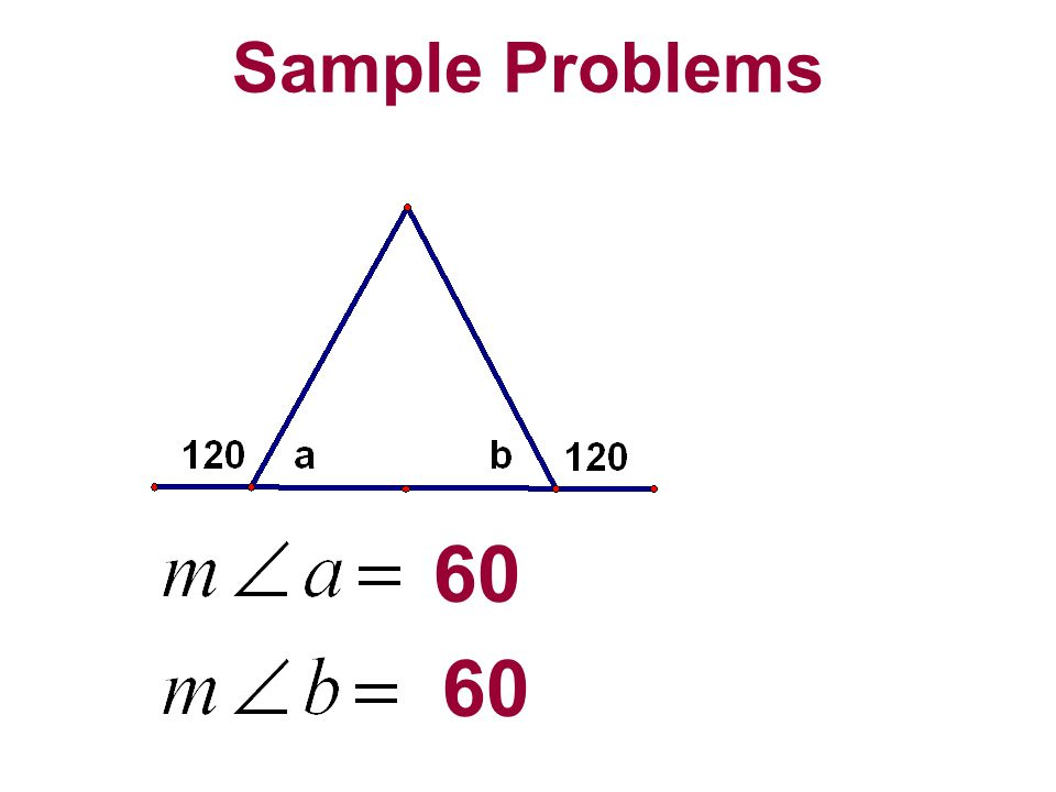 Sample Problems 60