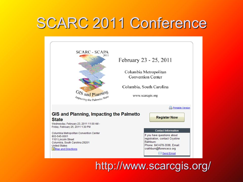 SCARC 2011 Conference