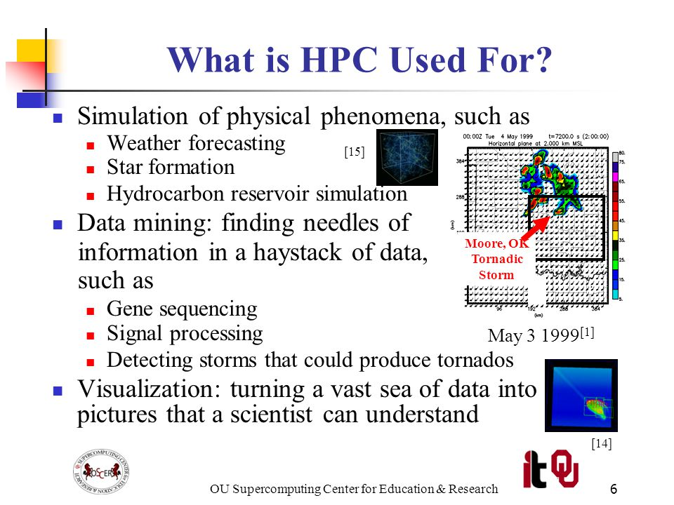 OU Supercomputing Center for Education & Research7 What is OSCER.