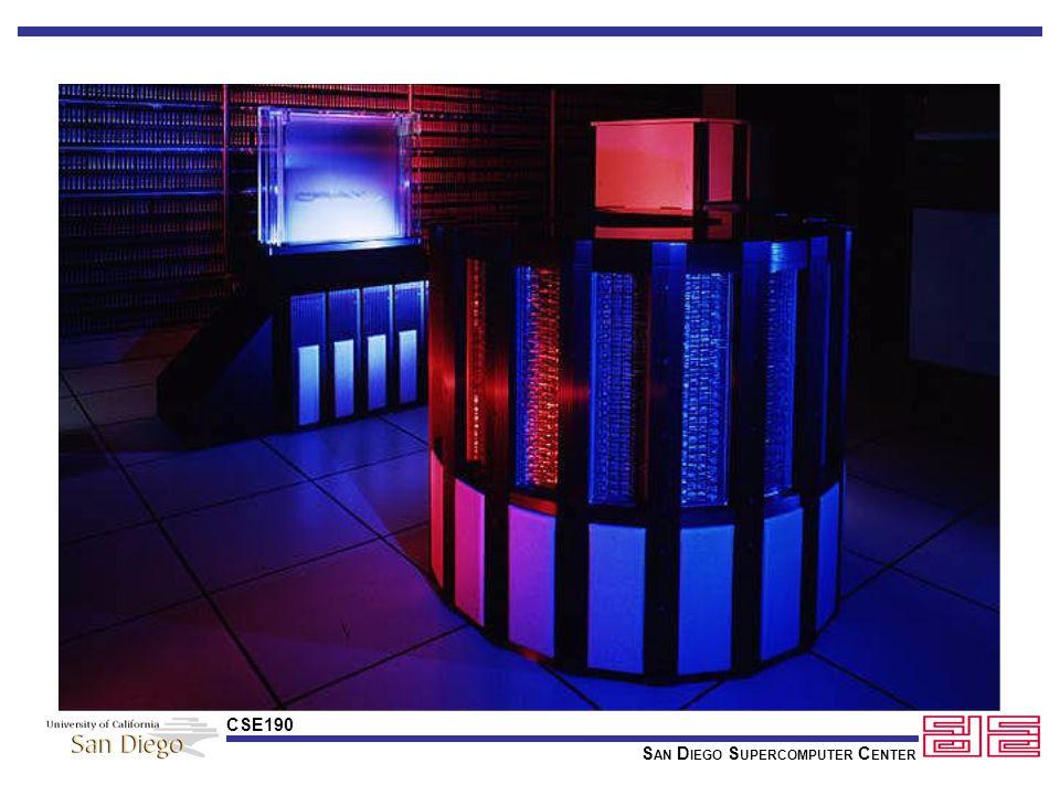 S AN D IEGO S UPERCOMPUTER C ENTER CSE190 Cray Companies Control Data Cray Research Inc.