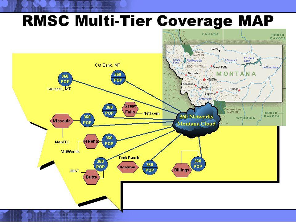 RMSC Multi-Tier Coverage MAP