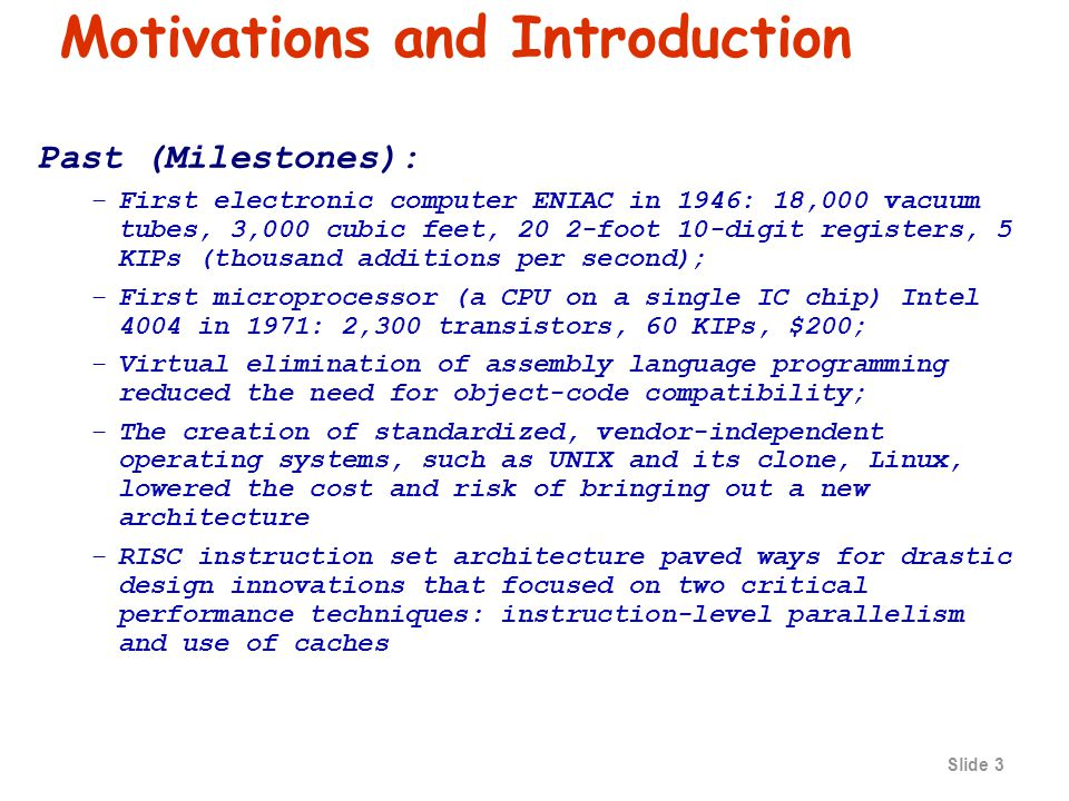 Slide 23 Performance Definitions Performance is in units of things-per-second.