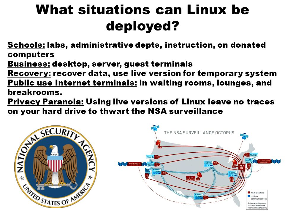 What situations can Linux be deployed.