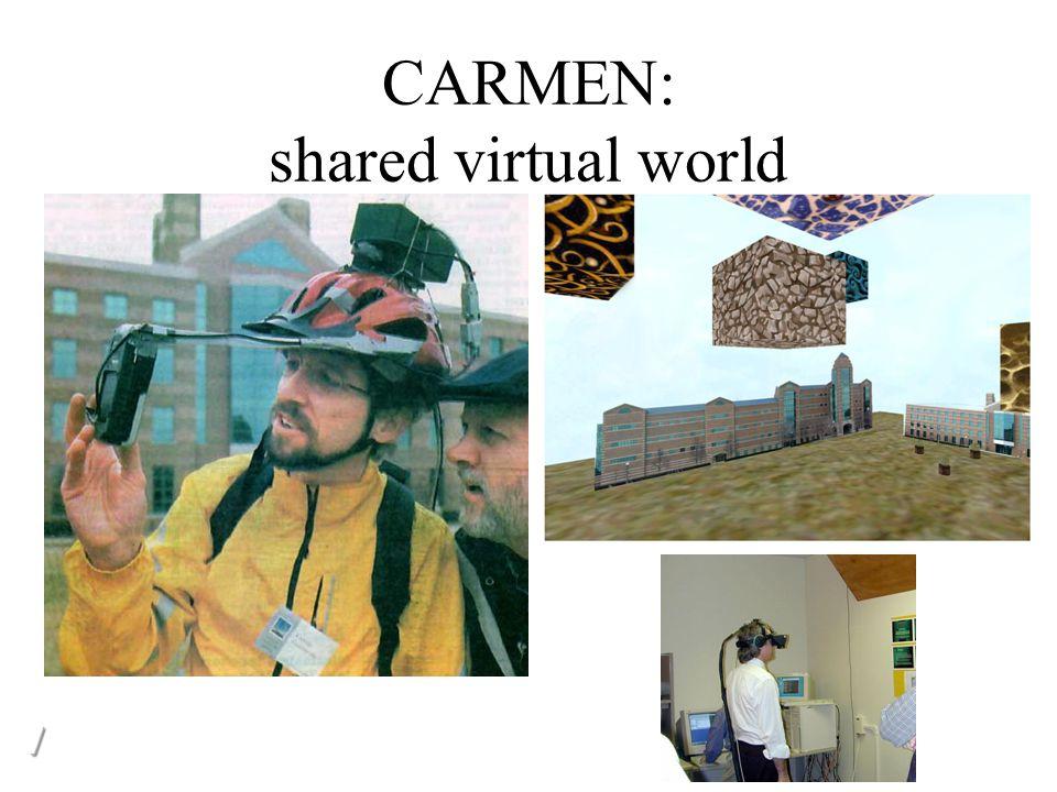 CARMEN: shared virtual world //