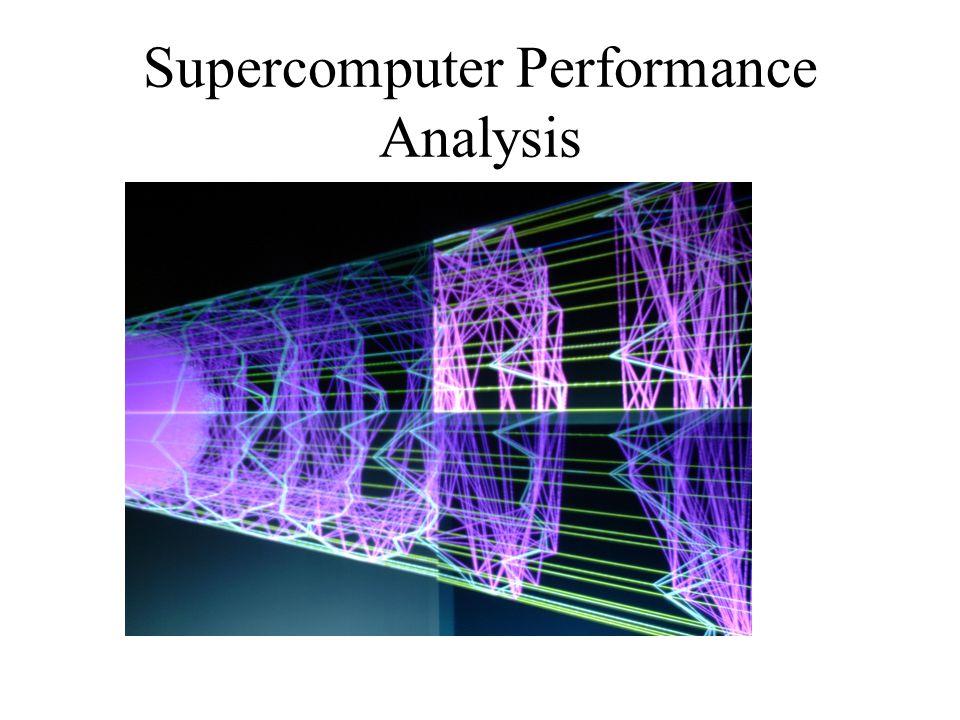 Supercomputer Performance Analysis