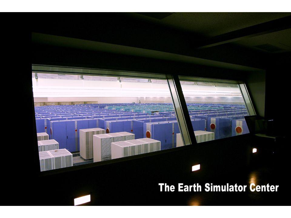 The Earth Simulator: Development Schedule