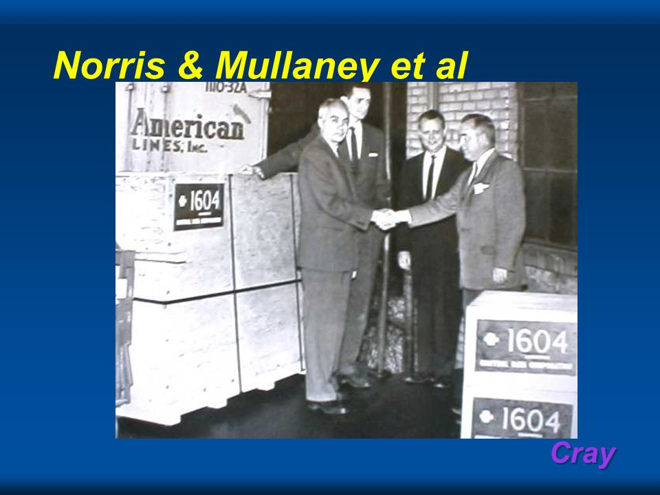 Cray Norris & Mullaney et al