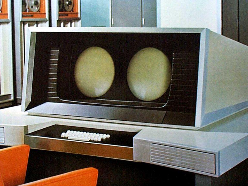 Cray CDC 6600 operator's console