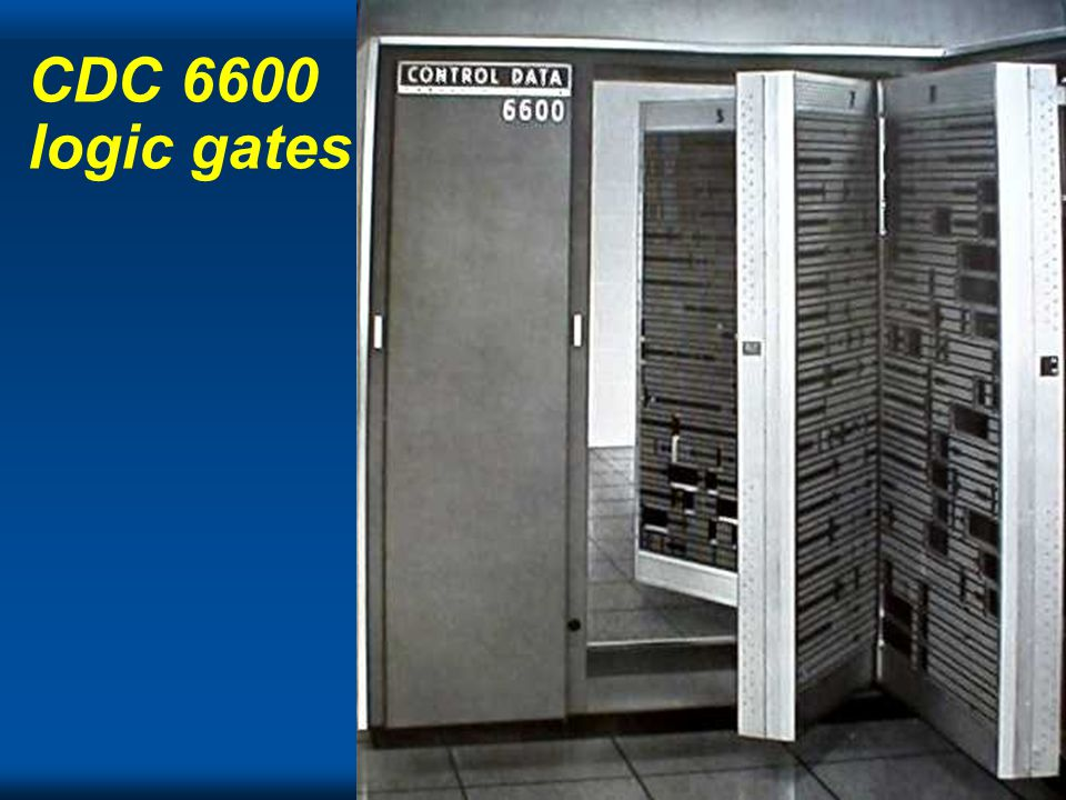 Cray CDC 6600 logic gates