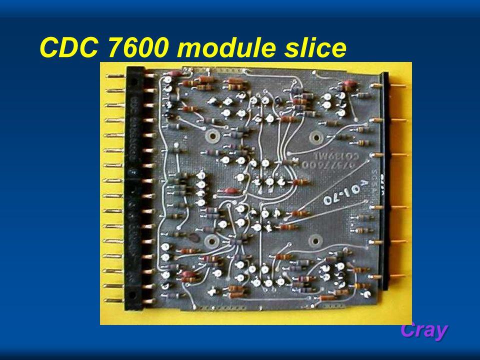 Cray CDC 7600 module slice