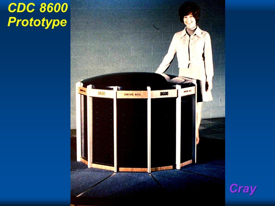 Cray CDC 8600 Prototype